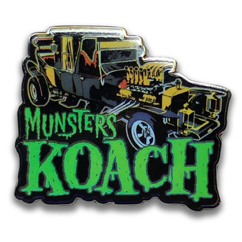 The Munster's Koach Collectable Pin