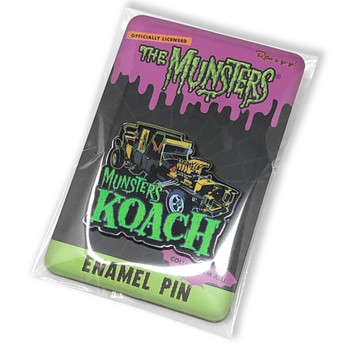 The Munster's Koach Collectable Pin packaging view