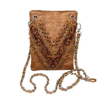 Chic Bag Crossbody Purse Brown