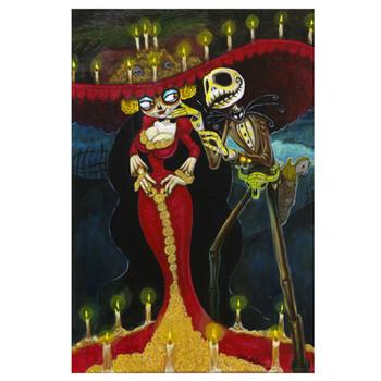 Simply Meant to Die by Joey Rotten Fine Art Print Skellington