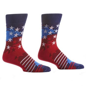 Stars and Stripes Men's Crew Socks