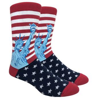 Statue of Liberty Men's Crew Socks