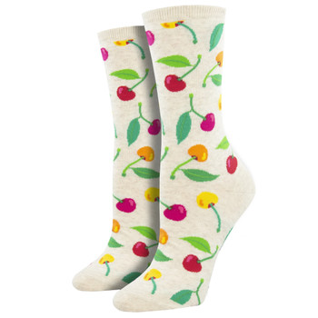 Cherries Women's Crew Socks