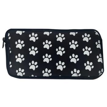 Doggy Paw Prints Cosmetic Makeup Bag