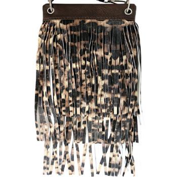 Chic Bag Leopard Fringe Crossbody Purse