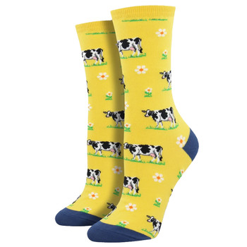 Dairy Cows Women's Crew Socks