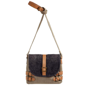Mona B Buckled Up Crossbody Purse