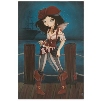 Terra Bidlespacher - Jane of the Sea - Fine Art Print