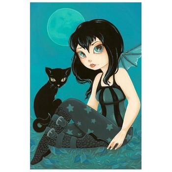 Terra Bidlespacher - Moonlight Hijinks - Fine Art Print