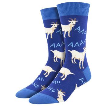 Screaming Goats Men's Crew Socks