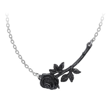 P913 - Black Thorn Necklace