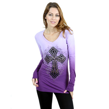 Vocal Apparel Special Dyed Long Sleeve Shirt