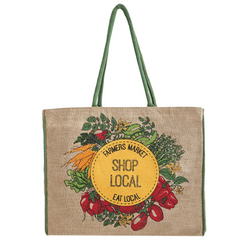 Farmers Market Shop Local Tote Bag