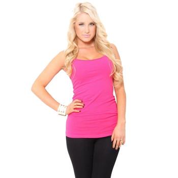 Fuchsia Pink Camisole Tank Top