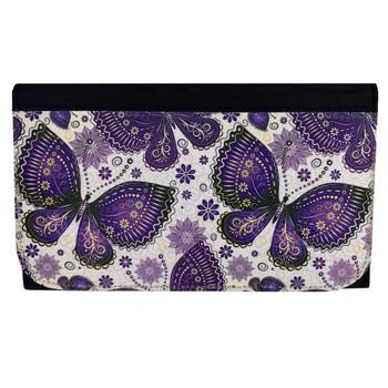 Purple Butterfly's Women's Wallet
