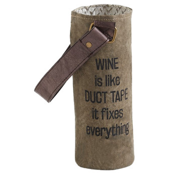 Mona B Duct Tape Wine Bag Carrier