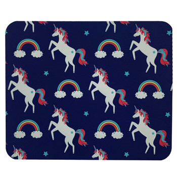Rainbows and Unicorns Mouse Pad Mat