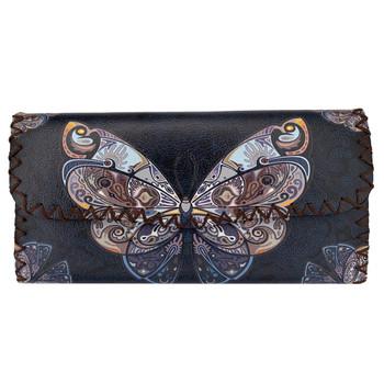 Butterfly Faux Leather Wallet