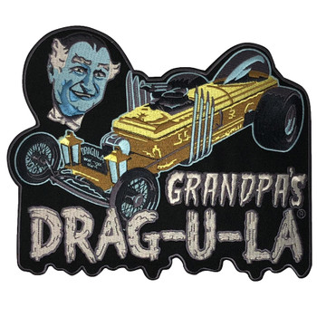 Grandpa's DRAG-U-LA Back Patch