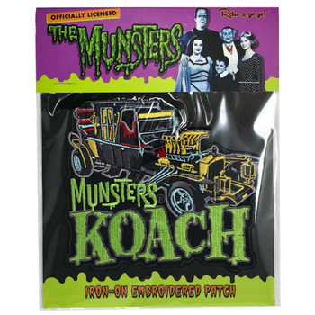 The Munsters Koach Patch packaging view