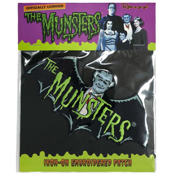 The Munsters Logo Patch packaging view