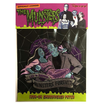 Munsters Forever Patch packaging view