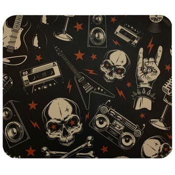Headbanger Skull Mouse Pad Mat