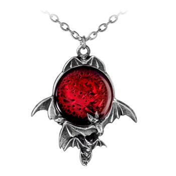 Alchemy Gothic - P447 - Blood Moon Pendant