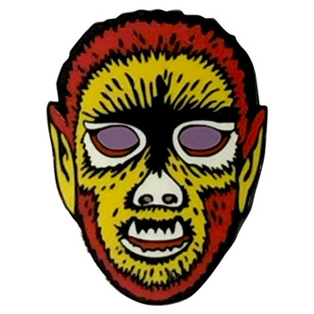 Electric Wolfman Enamel Pin