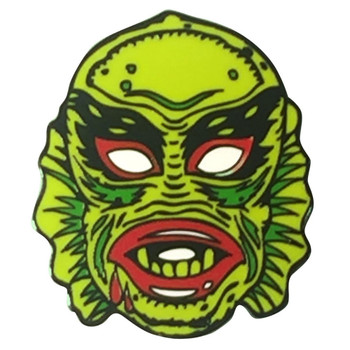 Fish Face Creepy Enamel Pin