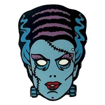 Nightmare Bride of Frankenstein Enamel Pin