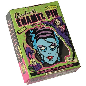Nightmare Bride of Frankenstein Enamel Pin  Collectible Box