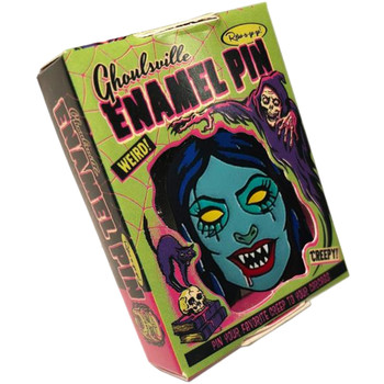 Vampyra Girl Enamel Pin  Collectible Box