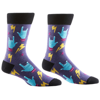 Rock On Men's Crew Socks