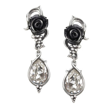Alchemy Gothic - E347 - Bacchanal Rose Earrings