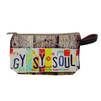 Gypsy Soul cosmetic make-up bag.