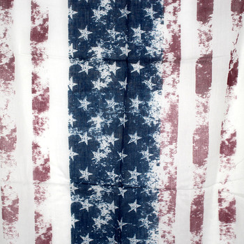 Rugged USA American Flag Scarf Stars and Stripes