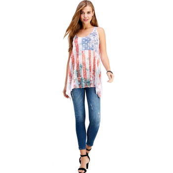American Flag Tank Top Shirt