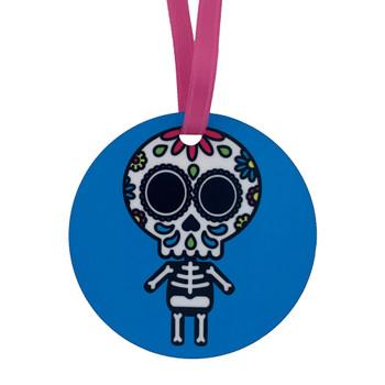 Sugar Skull Skeleton Hanging Decoration