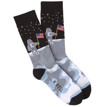 Men's Man On the Moon Crew Socks