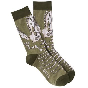 Men's T-Rex Crew Socks