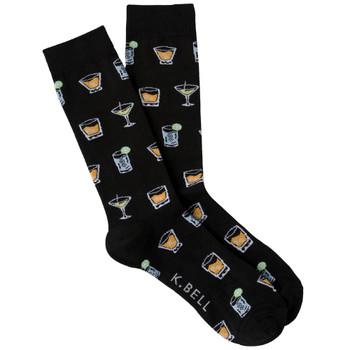 Men's Cocktails Crew Socks