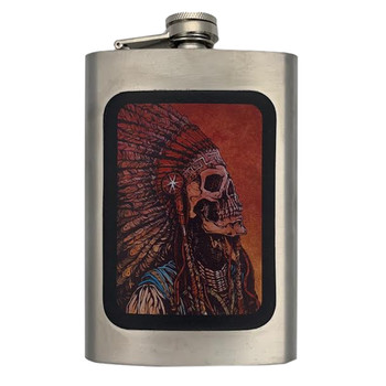 Spirit of a Nation Stainless Steel Flask