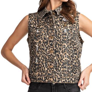 Leopard Animal Print Vest