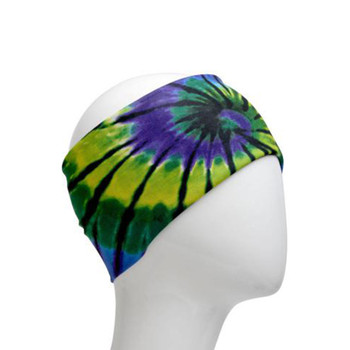 Tie-dye infintity headband.
