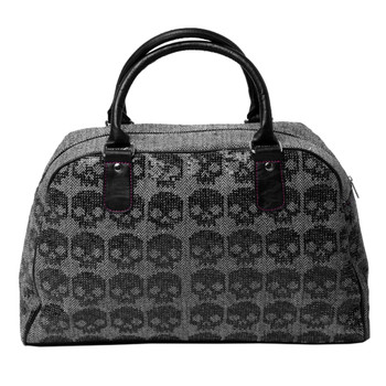 Iron Fist Skull Weekend Travel Bag back view