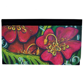Hibiscus Tropical Flowers Women's Wallet