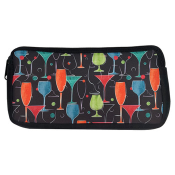 Cocktail Time Neoprene Zippered Pouch