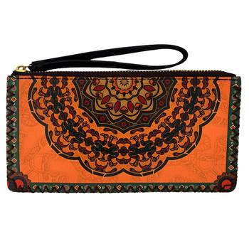Bohemian Mandala Wristlet Wallet