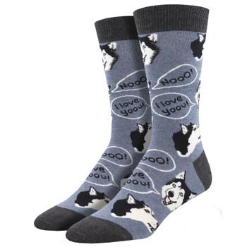 Howling For You Men's Crew Socks